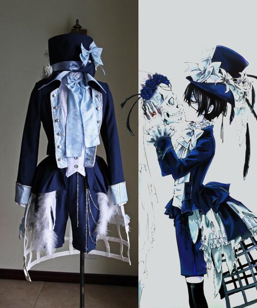 Black Butler/Kuroshitsuji Cosplay Ciel Phantomhive Costume Set