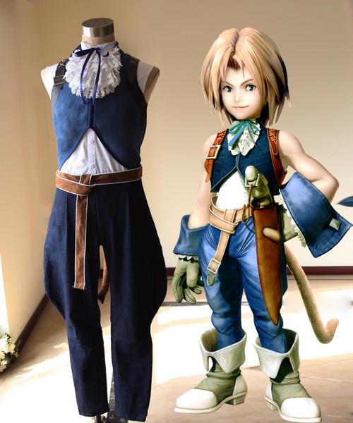 Final Fantasy IX Cosplay Zidane Tribal Costume Set