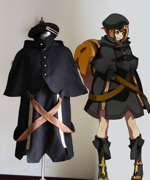 BlazBlue: Continuum Shift II Cosplay, Makoto Nanaya Costume Set