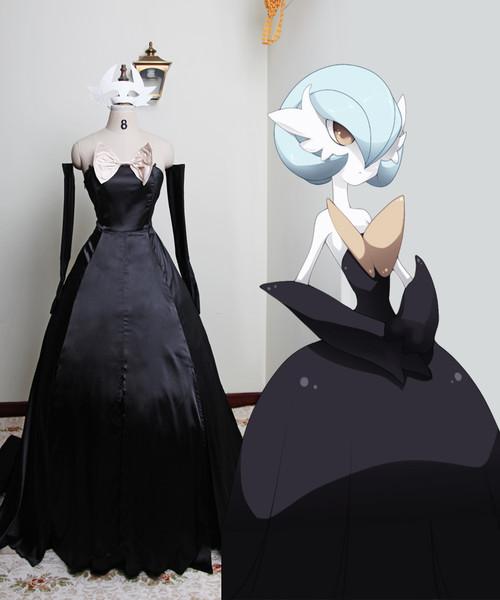 Pokemon Cosplay, Shiny Mega Gardevoir Dress Set