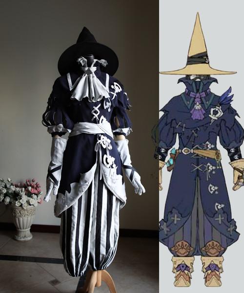 Final Fantasy XIV Cosplay, Black Mage Costume