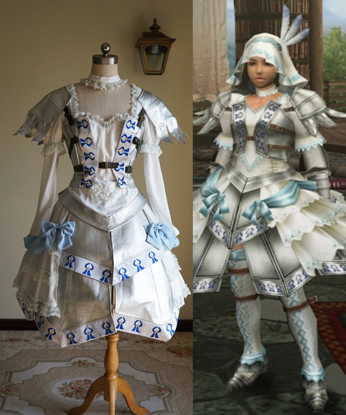 Monster Hunter Frontier G (MHF-G) Game Cosplay, Promise series Costume