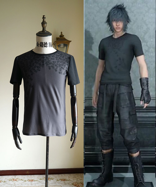 Final Fantasy XV / FF15 (Game) Cosplay, Noctis Lucis Caelum Shirt Costume
