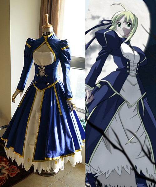 Night Costume Fate Stay Outfit Combat CosplaySaber RqA34L5j