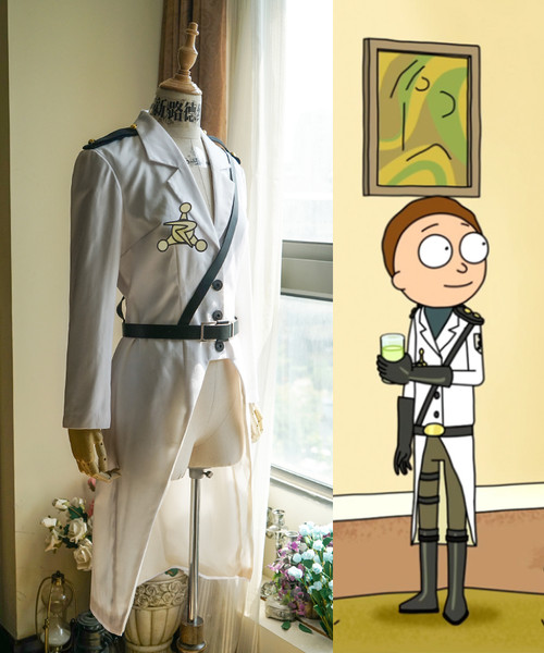 Rick and Morty (TV Series) Cosplay, Morty Smith Uniform Jacket