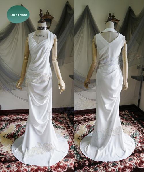 Lunafreya Wedding Dress Cosplay