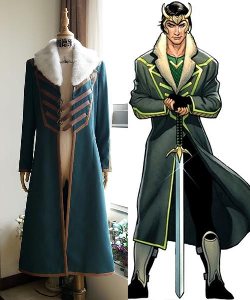 Loki: Agent of Asgard Cosplay, Loki Coat Costume