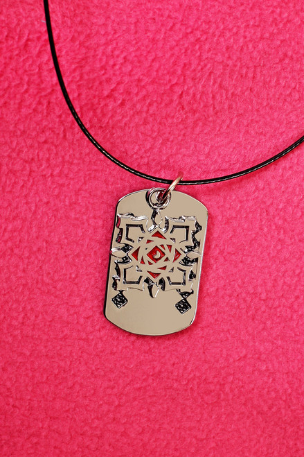 Gothic Vampire Knight Double Pendants Necklace (Vampire Knight)