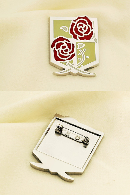 Gothic Stationed Corps Brooch (Attack on Titan)