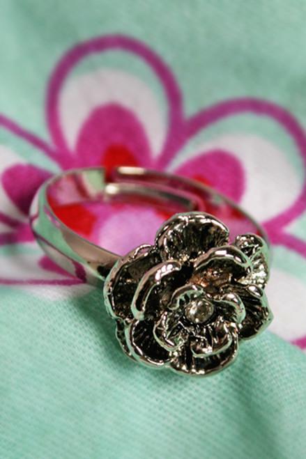 Gothic Antique Bronze Rose Ring (Rozen Maiden)
