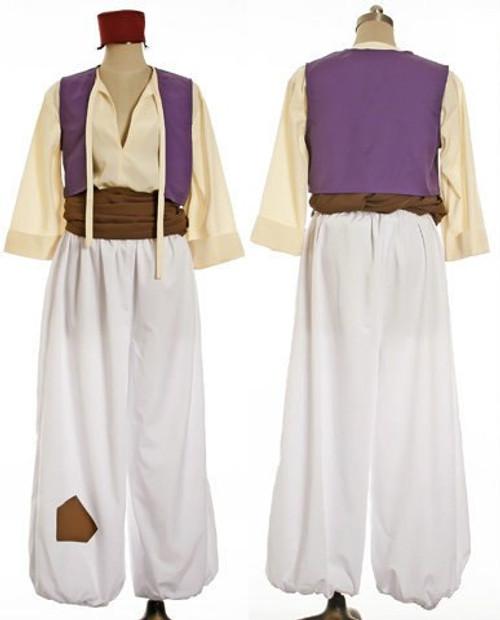 Disney Aladdin Cosplay, Prince Aladdin Costume Set