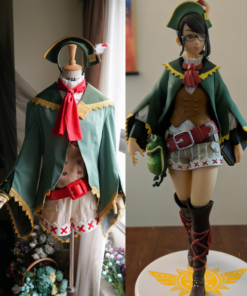 Monster Hunter 4 Ultimate (MH4U) Cosplay, Guildmarm Costume Set