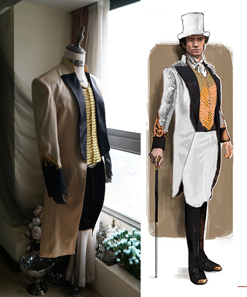 The Greatest Showman Cosplay, Hugh Jackman Costume Set