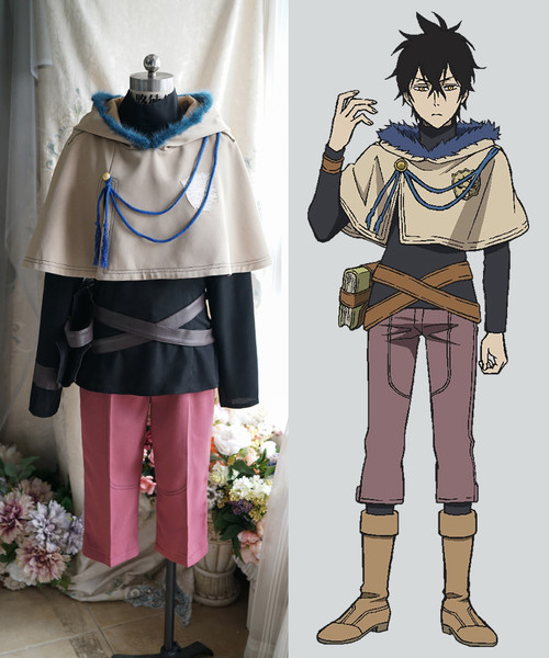 Black Clover Cosplay, Yuno Costume Set