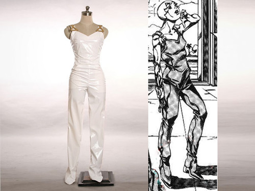 JoJo's Bizarre Adventure Cosplay, F.F(Foo Fighters) PVC Outfit