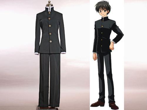 Kyo Kara Maoh! Cosplay,Yuri Shibuya Japan Boy School Uniform Set