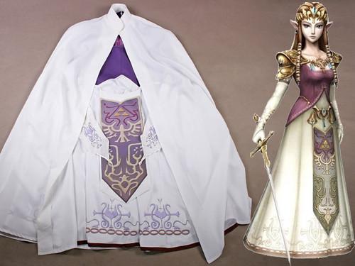 The Legend of Zelda: Twilight Princess Cosplay, Zelda Costume