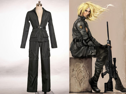 Metal Gear Solid Cosplay, Sniper Wolf Costume