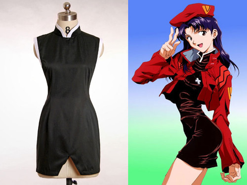 Neon Genesis Evangelion Cosplay, Misato Katsuragi Dress Only