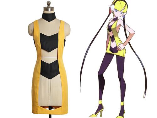Pokemon Black/White Cosplay, Elesa Costume One-Piece