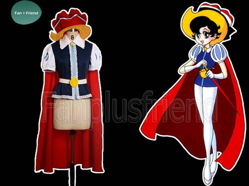 Princess Sapphire Cosplay, Princess Costume Set