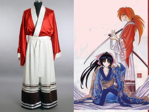 Rurouni Kenshin Cosplay, Kenshin's Satin Kimono Set