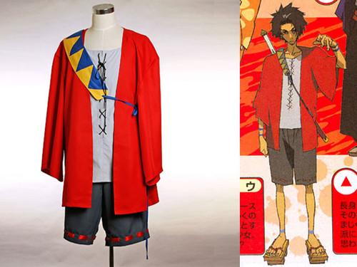 Samurai Champloo Cosplay, Mugen's Costume