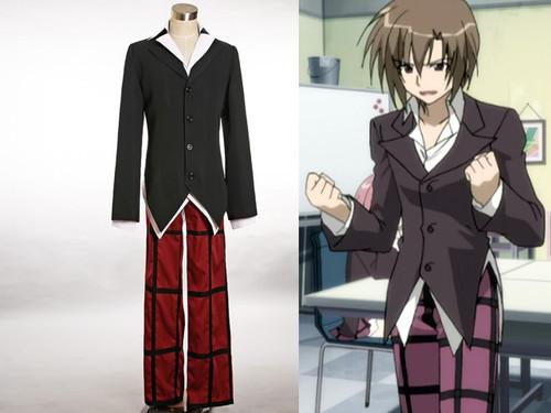 Seitokai no Ichizon Cosplay Key School Uniform Costume Outfit