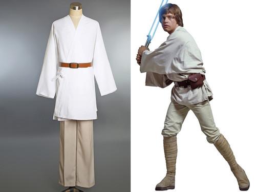 Star Wars Movie Cosplay, Luke Skywalker Costume Set