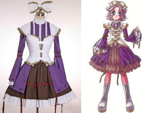 Super Robot Wars OG Cosplay,Latooni's Lolita Costume