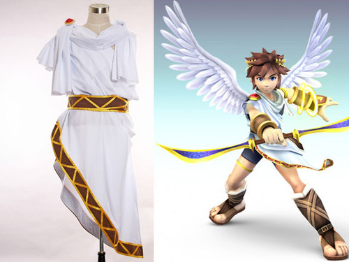 Super Smash Bros. Brawl Cosplay, Pit Toga and Boot Covering