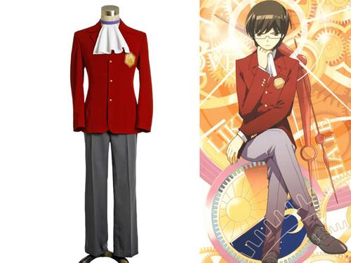 The World God Only Knows (Kaminomi zo shiru sekai) Cosplay Katsuragi Keima Costume School Uniform Set