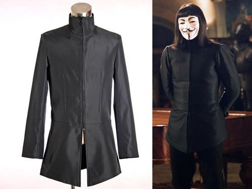 V for Vendetta Cosplay, Hugo Weaving Renaissance Doublets Jacket