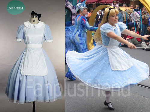 Disney Alice In Wonderland Cosplay,Paradise Outfit