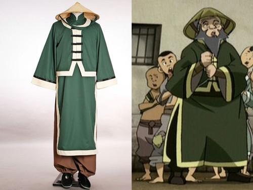 Avatar Cosplay, Iroh Costume*3pcs set