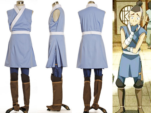 Avatar: The Last Airbender Cosplay Sokka Costume Set