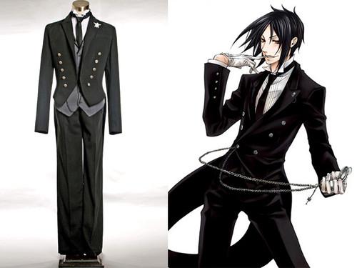 Black Butler/Kuroshitsuji Cosplay, Sebastian Michaelis Butler Outfit