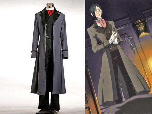 Black Butler/Kuroshitsuji Cosplay, Sebastian Michaelis Tutor Coat