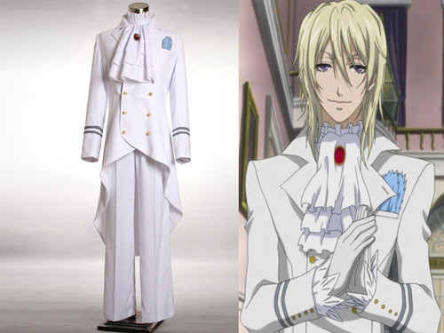 Black Butler/Kuroshitsuji Cosplay, Viscount Druitt Ball Costume Set