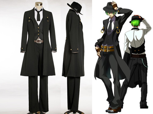 Blazblue: Calamity Trigger Cosplay, Hazama Costume Set