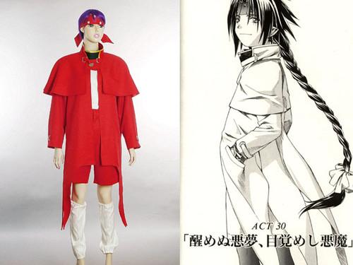 Chrono Crusade Cosplay, Chrono's Costume Set