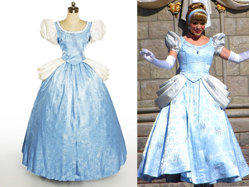 Disney Disneyland Cinderella Cosplay, Cinderella Costume*Parade&Wedding versions