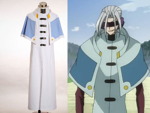 Code Geass Cosplay, Mao Cape Gown Costume