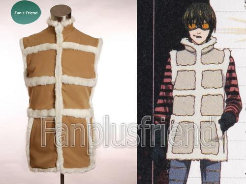 Death Note Cosplay Matt's Fur Vest