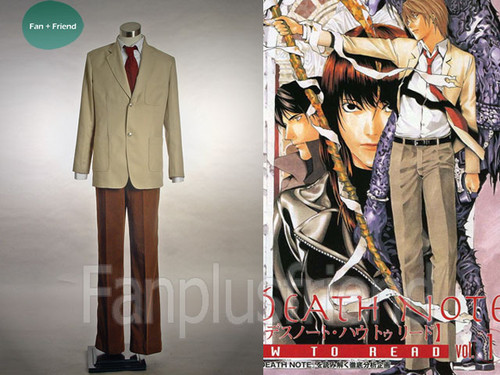 Light Yagami Suit, Death Note Cosplay, Japan School Uniform
