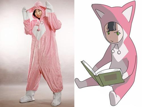 Pino from Ergo Proxy Cosplay Kigurumi Costume