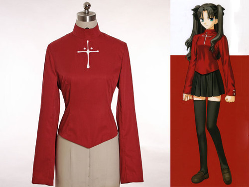 Fate Stay Night Cosplay, Rin Tohsaka's Blouse