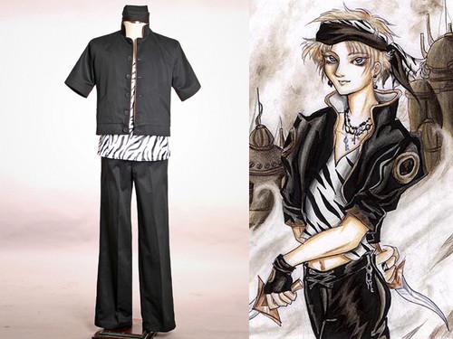 Final Fantasy Cosplay, Locke Cole Costume