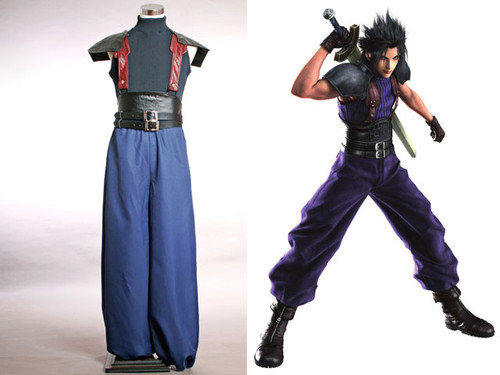 Final Fantasy Cosplay, Zack Fair Costume Set