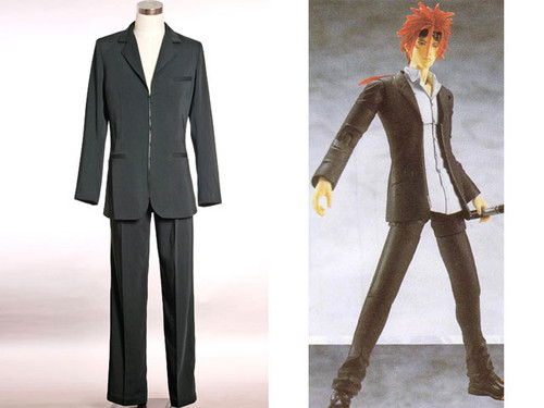 Final Fantasy VII Cosplay, Reno Slim Suit